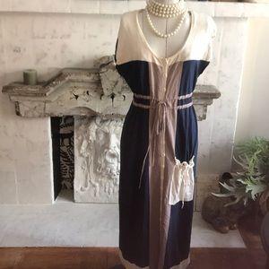 Oonagh Nanette Lepore Navy Knit Maxi Dress